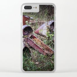 Very Old Vehicle Clear iPhone Case