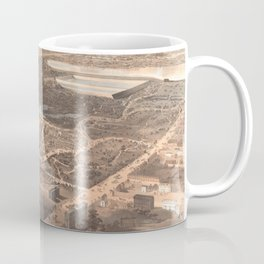 Vintage Pictorial Map of Central Park (1864) Coffee Mug