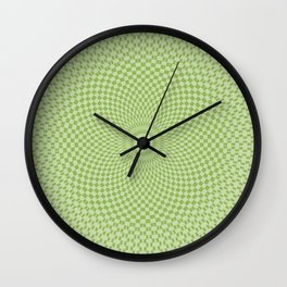 Karma Spring Green Buzz Wall Clock
