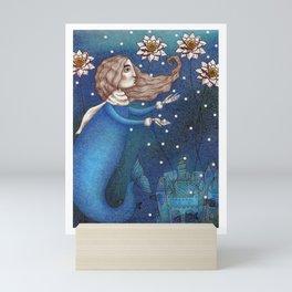 The Mermaid's Lake--The Underwater Palace Mini Art Print