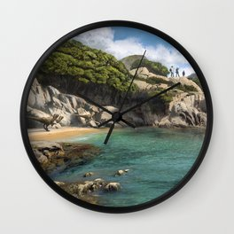 Crique Wall Clock