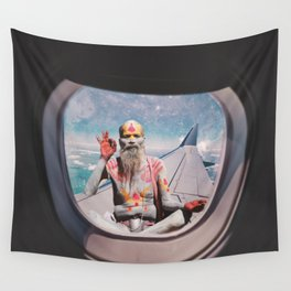 EVERYTHING IS OKAY - YOGI MEDIATION Wall Tapestry