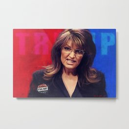 The Downfall of the GOP Metal Print