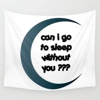 sleep Wall Tapestries featuring Sleep by Cs025