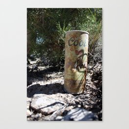 Old Coors Canvas Print