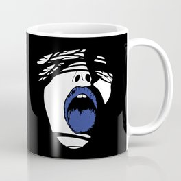 Blue Tongue Coffee Mug