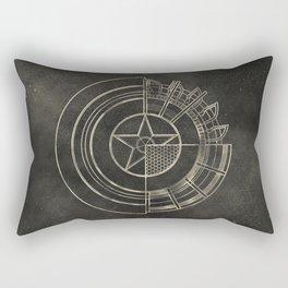Capt America Rectangular Pillow