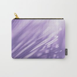 Ultra Violet Palm Tree Pattern  Trendy color of year 2018 Carry-All Pouch