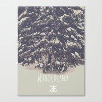 wonderland Canvas Prints featuring Wonderland by Christine VanFonda