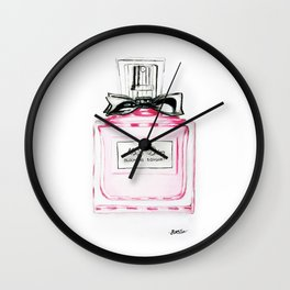 Blooming Bouquete Parfume Wall Clock