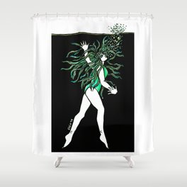 What is dead may never die! Shower Curtain