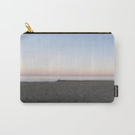 Winter Sunset By The Sea  Carry-All Pouch