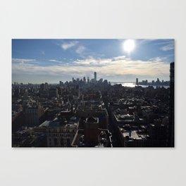 Downtown Manhattan Canvas Print