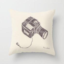 The Hasselblad Throw Pillow