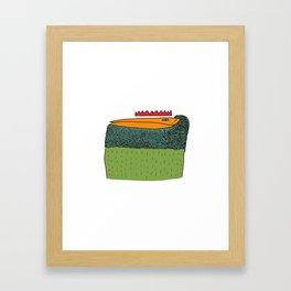 Monster_02 Framed Art Print