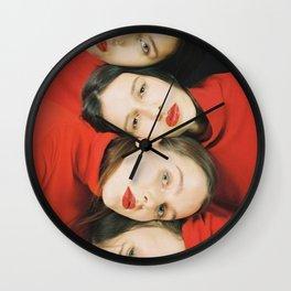 German Girls Wall Clock