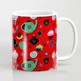 tea on red Coffee Mug