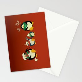 Penguin family  Stationery Cards