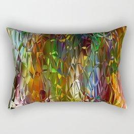 Abstract Gass Rectangular Pillow