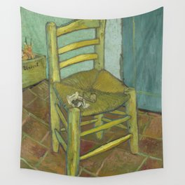 Van Gogh's Chair Wall Tapestry