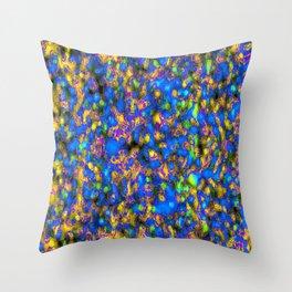 crazed colors 8 Throw Pillow