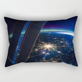 Moscow, Russia from ISS-30 Rectangular Pillow