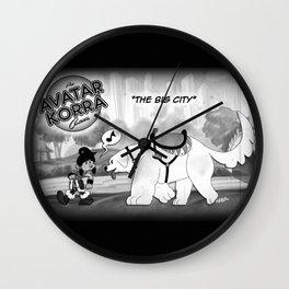 Old Timey Korra Wall Clock