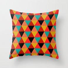 Ternion Series: Wintertide Jubilee Notion Throw Pillow
