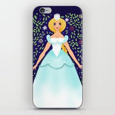 The Winter Fairy Brings The First Frost iPhone & iPod Skin
