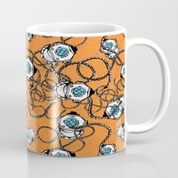 scuba Mugs featuring Scuba Squad by Marc Weiss Designs