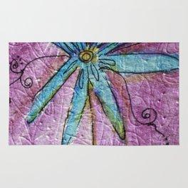 Scribble Flower Rug