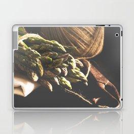 Fresch Asparagus on the table Laptop & iPad Skin