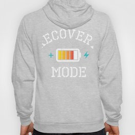 Get Well Soon Gift product Recovery Mode is On Post Surgery Hoody