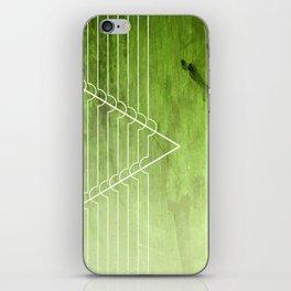 Disrupt - Green iPhone Skin