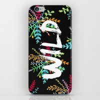 into the wild iPhone & iPod Skins featuring Wild by Camila Escat