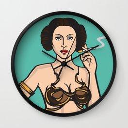 Princess Leia Playboy Cover Wall Clock