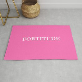 fortitude 2 - Pink version Rug
