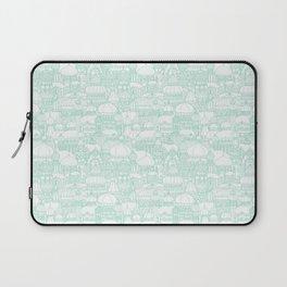 Delightful Domes - Mint Laptop Sleeve