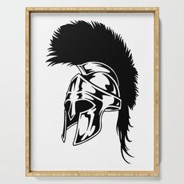 Epic Mohawk Roman Helmet Serving Tray