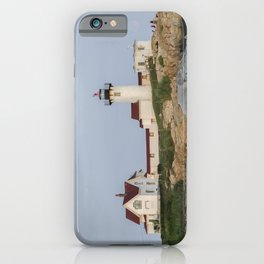 Eastern Point Lighthouse Aug2017 iPhone Case