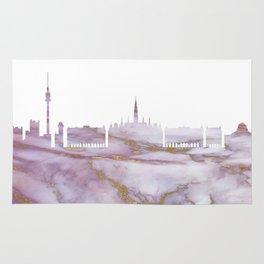 Vienna Skyline Austria Rug