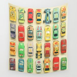 Car Park Wall Tapestry