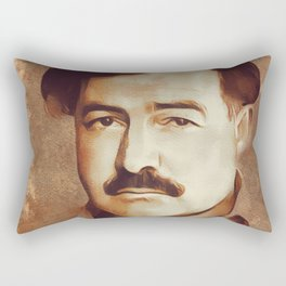 Ernest Hemingway, Author Rectangular Pillow