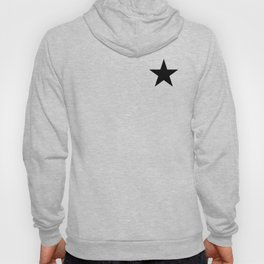 Black star t shirts cotton jersey clothing Hoody