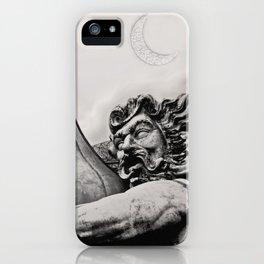 King Poseidon Ocean Mythology Greek God Sculpture New Orleans Mardi Gras Float iPhone Case