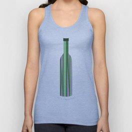 Wine Bottle  Unisex Tank Top