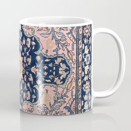 Sarouk  Antique West Persian Rug Print Coffee Mug