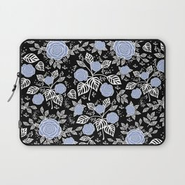 Seamless floral background Laptop Sleeve