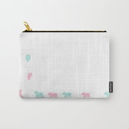 Pastel Pigs Carry-All Pouch