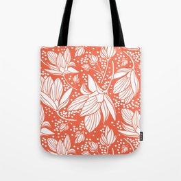 Magnolia Shower Tote Bag